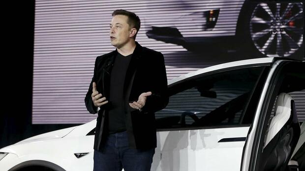 Tesla-Chef Elon Musk. Quelle: REUTERS
