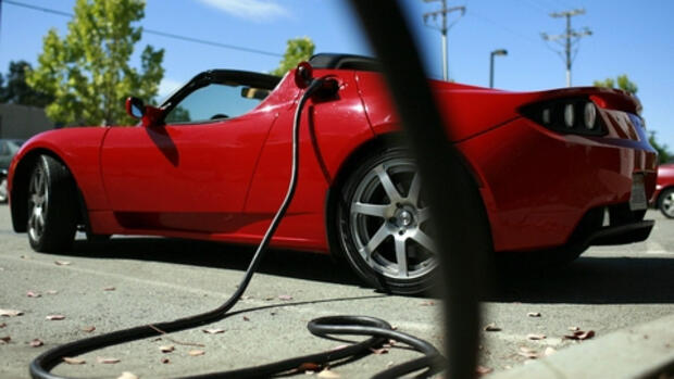 Tesla Roadster Quelle: REUTERS