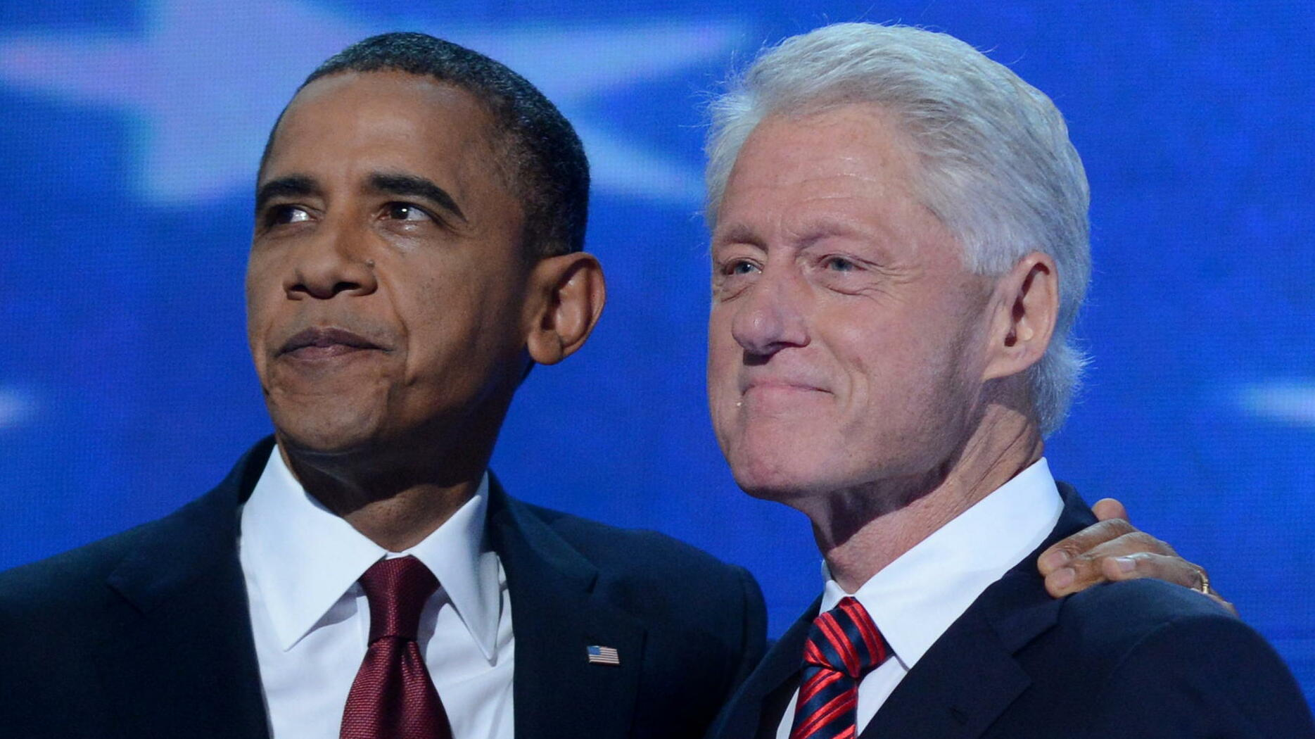 Barack Obama und Bill Clinton Quelle: dpa