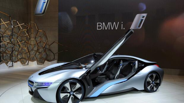 German car maker BMW Quelle: dpa