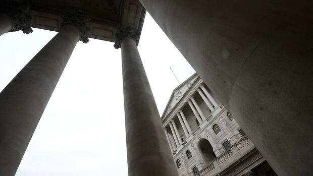 Bank of England Quelle: REUTERS
