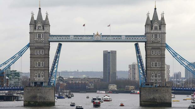 Tower Bridge, London Quelle: REUTERS