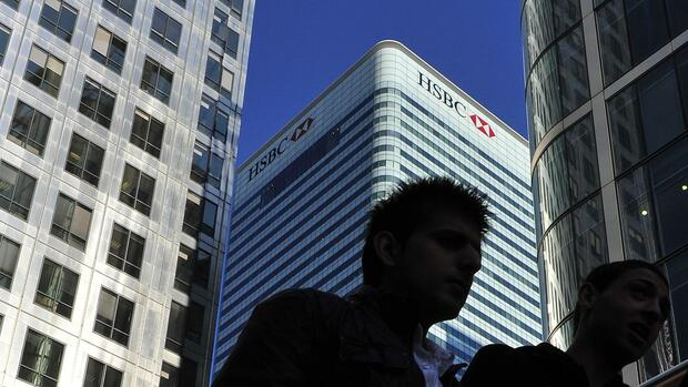HSBC in London Quelle: REUTERS