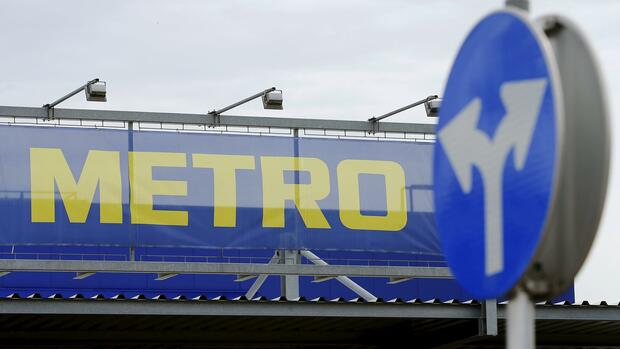 Das Logo der Metro Group Quelle: REUTERS
