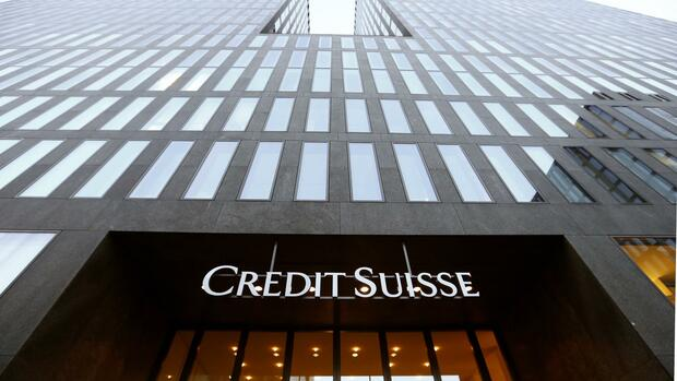 Das Logo der Bank Credit Suisse Quelle: REUTERS
