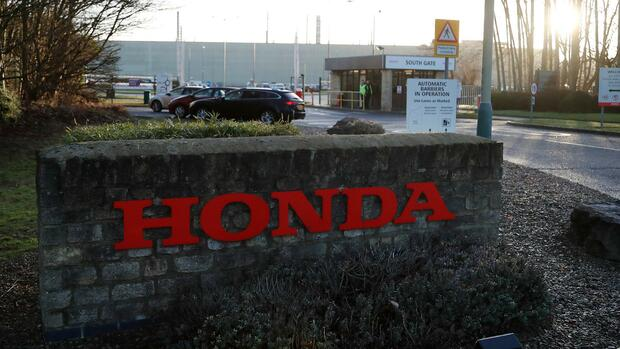 Das Honda-Werk in Swindon schließt 2021. Quelle: AP