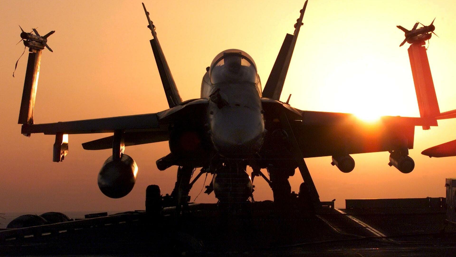 U.S. Navy F-18 Hornet jet fighter Quelle: REUTERS