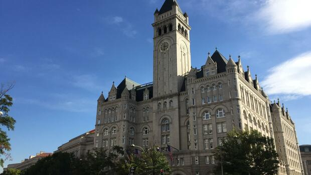 Das Trump International Hotel in Washington Quelle: AP