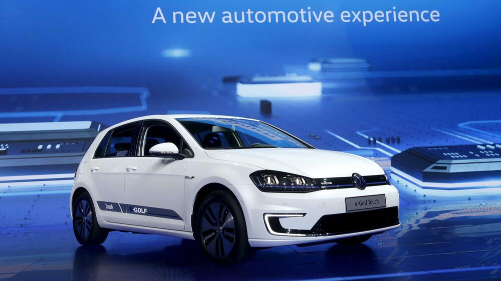 VW e-Golf Touch Quelle: REUTERS