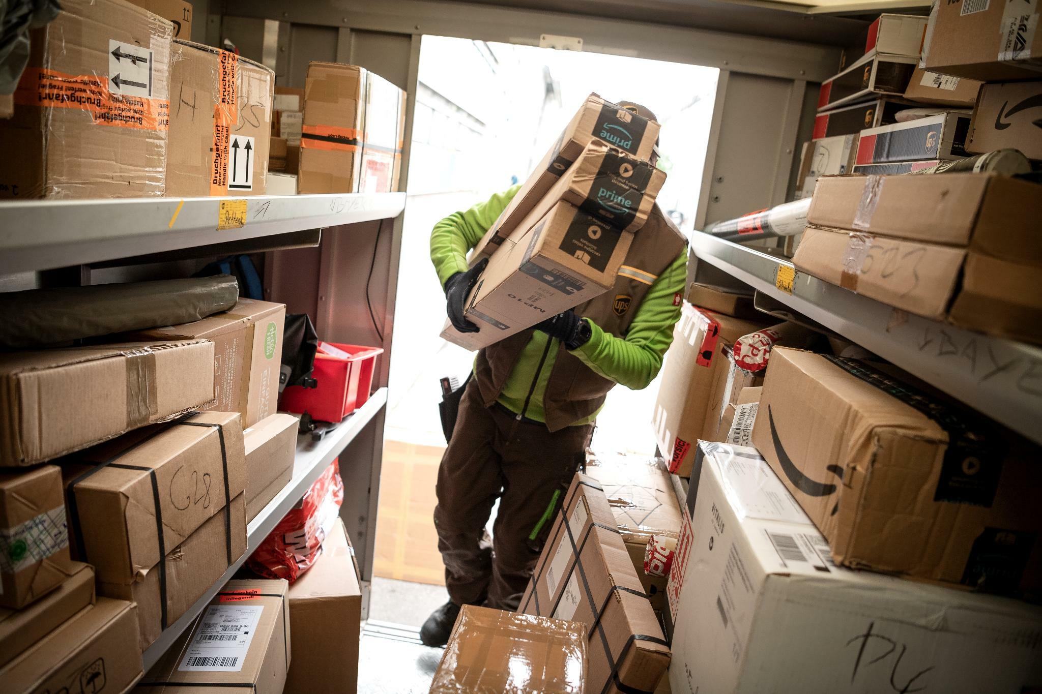 Paketbranche feilt an ihrer Zustellprognose