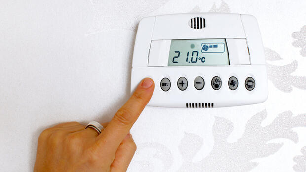 Thermostat digitale Temperaturregelung Quelle: sugar0607 - Fotolia.com