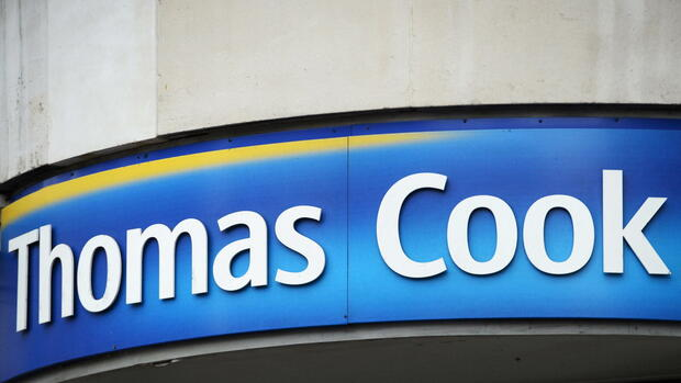 Thomas Cook Schild Quelle: dpa