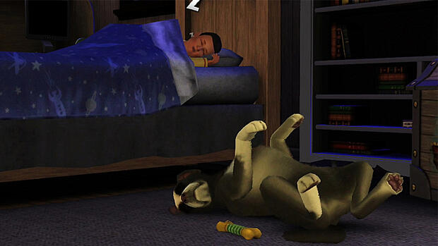 Screenshot Die Sims 3 - Einfach tierisch Quelle: screenshot