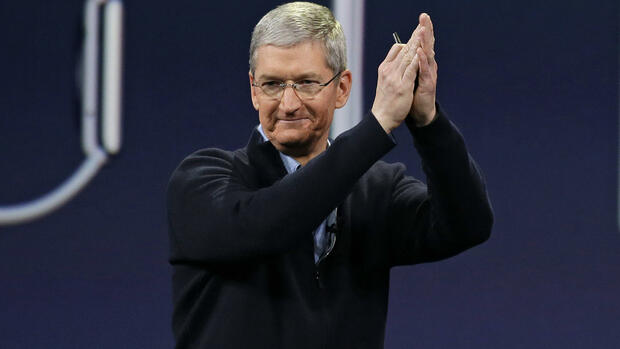 Apple-Chef Tim Cook Quelle: AP
