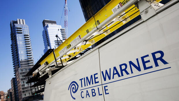 Time Warner Cable- Comcast Quelle: AP