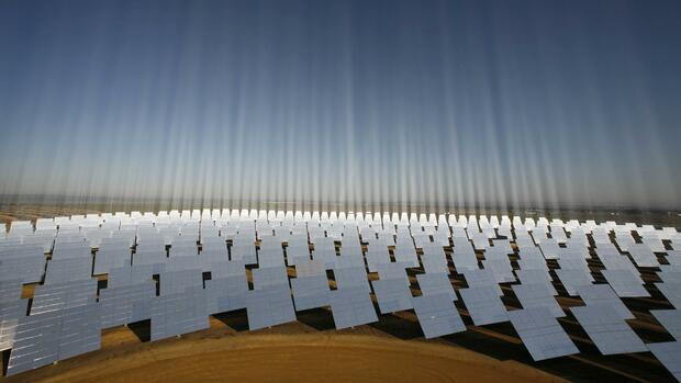 Solarpark in Spanien. Quelle: REUTERS