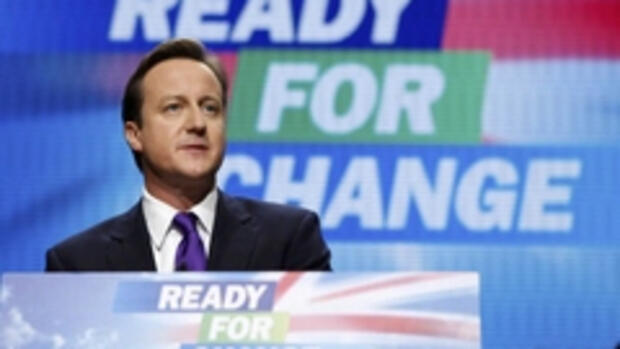 Tory-Chef David Cameron Quelle: REUTERS