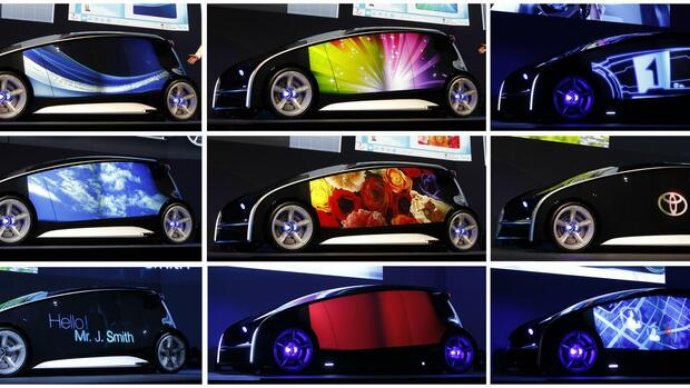 Toyota Concept Car Quelle: REUTERS