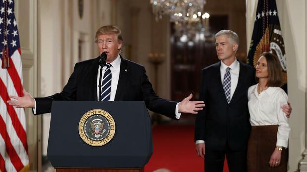 Neil Gorsuch kritisiert Verbalattacken des US-Präsidenten