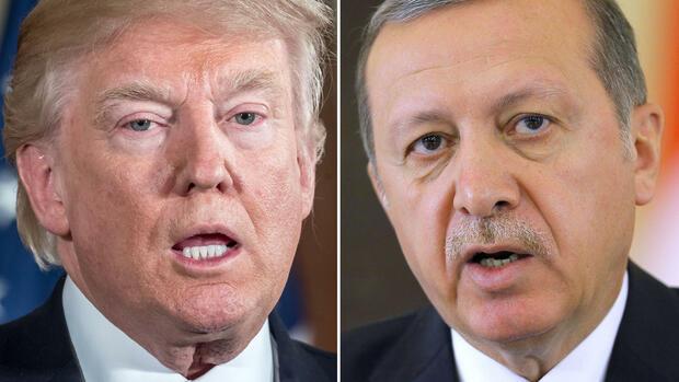 Trump und Erdoğan Türkischer Präsident zu Gast im Weißen Haus Quelle dpa