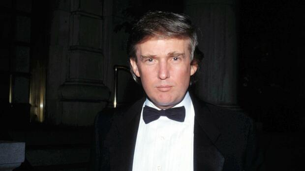 Donald Trump 1990 Quelle: imago images