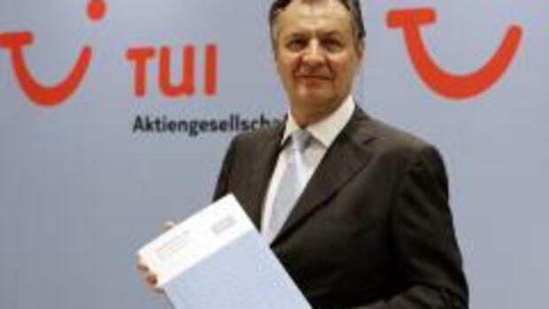 TUI-Chef Michael Frenzel Quelle: AP