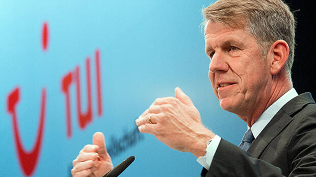 Tui-CEO Friedrich Joussen Quelle: dpa Picture-Alliance