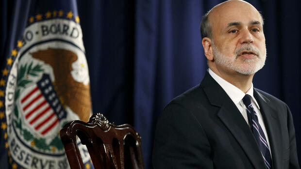 Ben Bernanke Fed Quelle: REUTERS