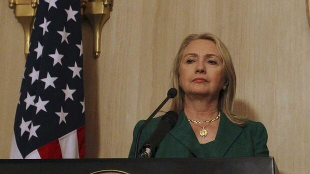Clintons Rolle in Libyen Quelle: REUTERS