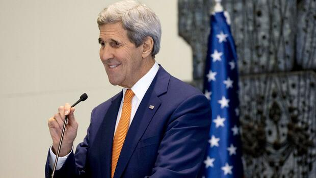 US-Außenminister John Kerry Quelle: REUTERS