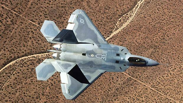 A Lockheed Martin Corp. F-22A fighter jet Quelle: REUTERS