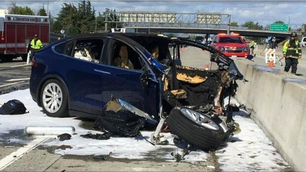 Autopilot war bei Unfall eingeschaltet