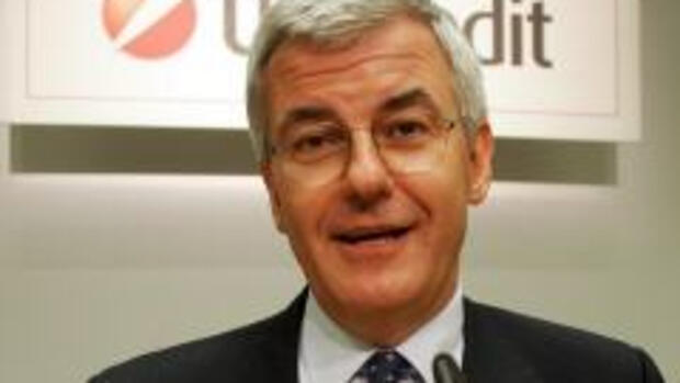 UniCredit-Chef Alessandro Quelle: dpa-dpaweb