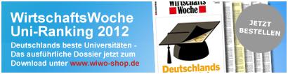 WirtschaftsWoche Uni-Ranking 2012