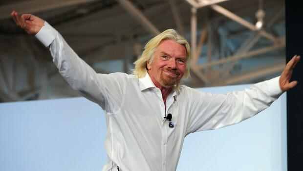 Sir Richard Branson traut Nothern Rock ein starkes Comeback zu. Quelle: AFP