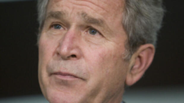 US-Präsident George W. Bush Quelle: AP