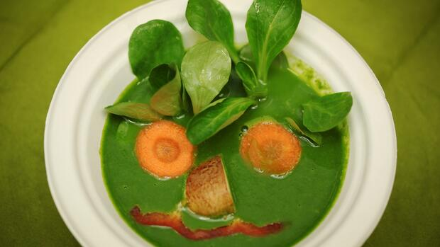 vegetarische Suppe Quelle: dpa Picture-Alliance