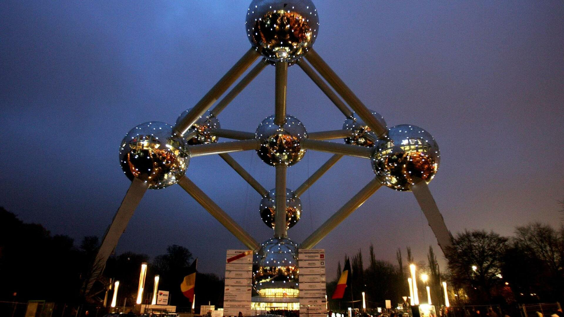 Da Atomium in Belgien Quelle: REUTERS