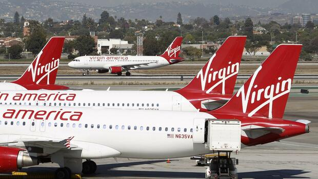 Flugzeuge von Virgin Air Quelle: REUTERS