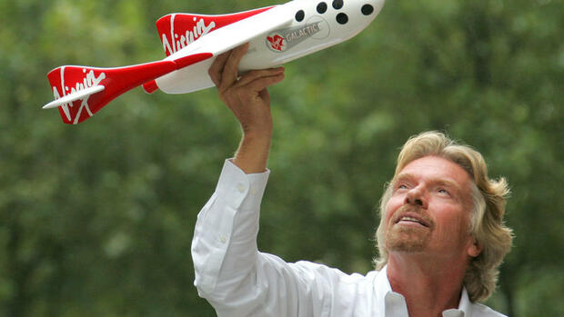 Richard Branson Quelle: dapd