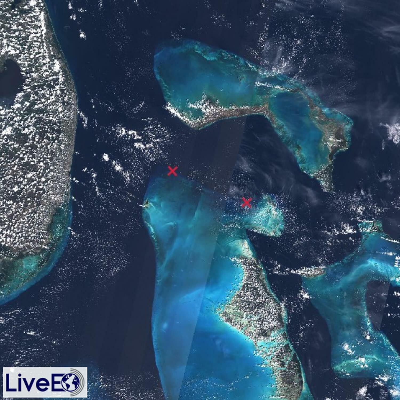 See zwischen den Bahamas und Florida