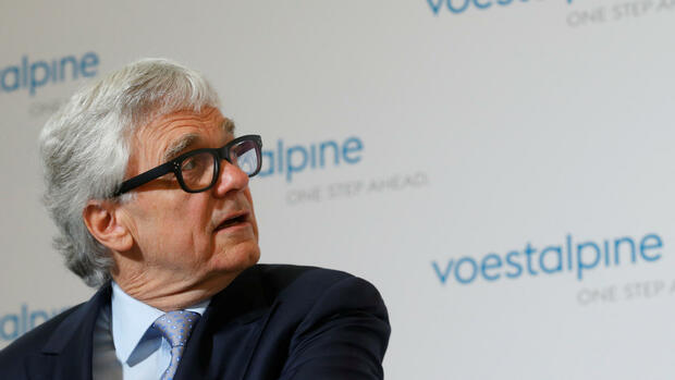 Voestalpine-Chef Wolfgang Eder Quelle: REUTERS
