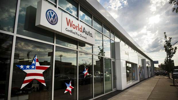 Volkswagen in den USA Quelle: dpa