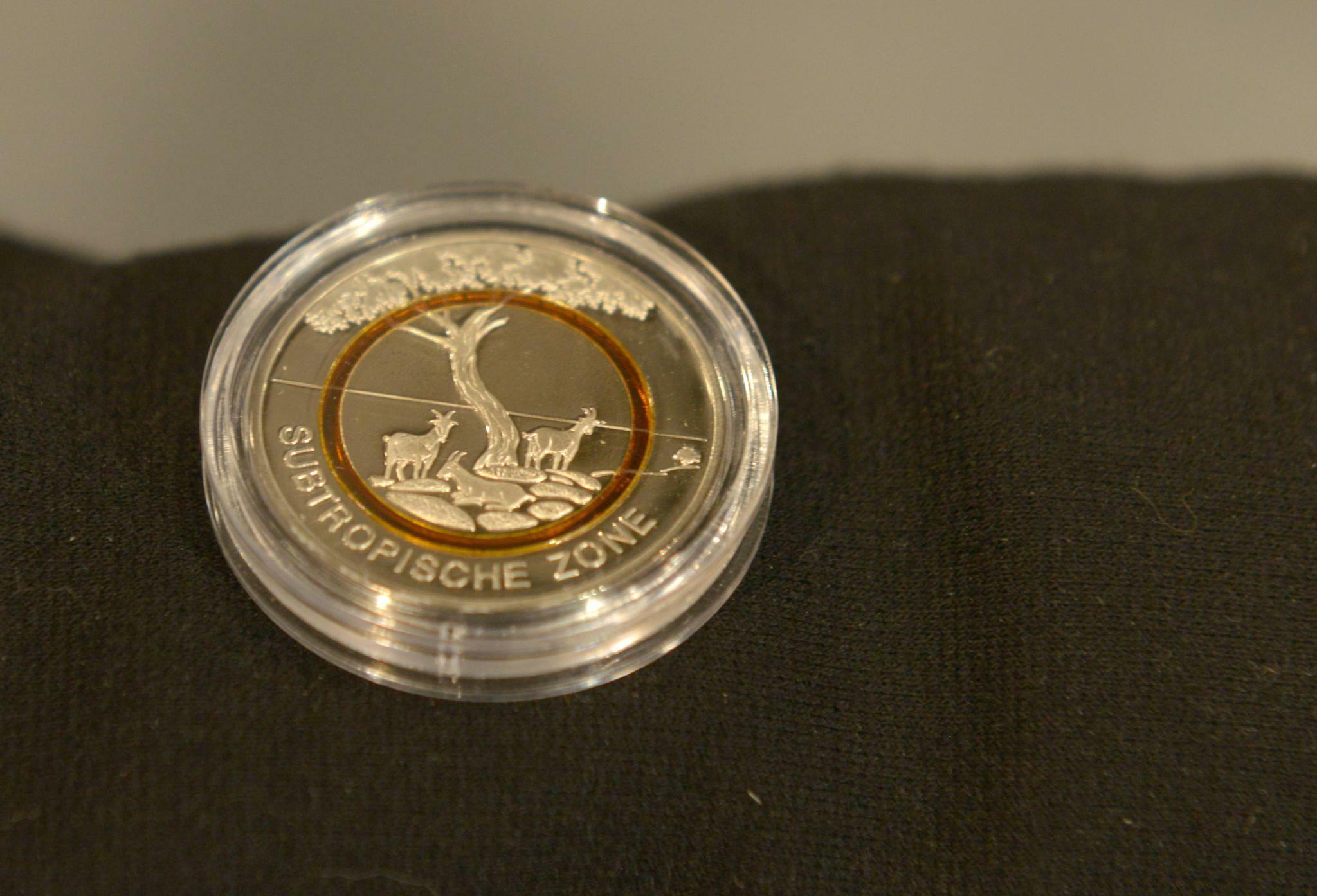 5 Euro Münze Neue Sammlermünze Subtropische Zone