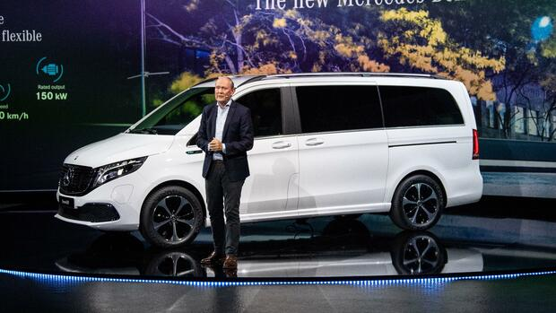 Mercedes EQV: Daimler präsentiert Elektro-Van
