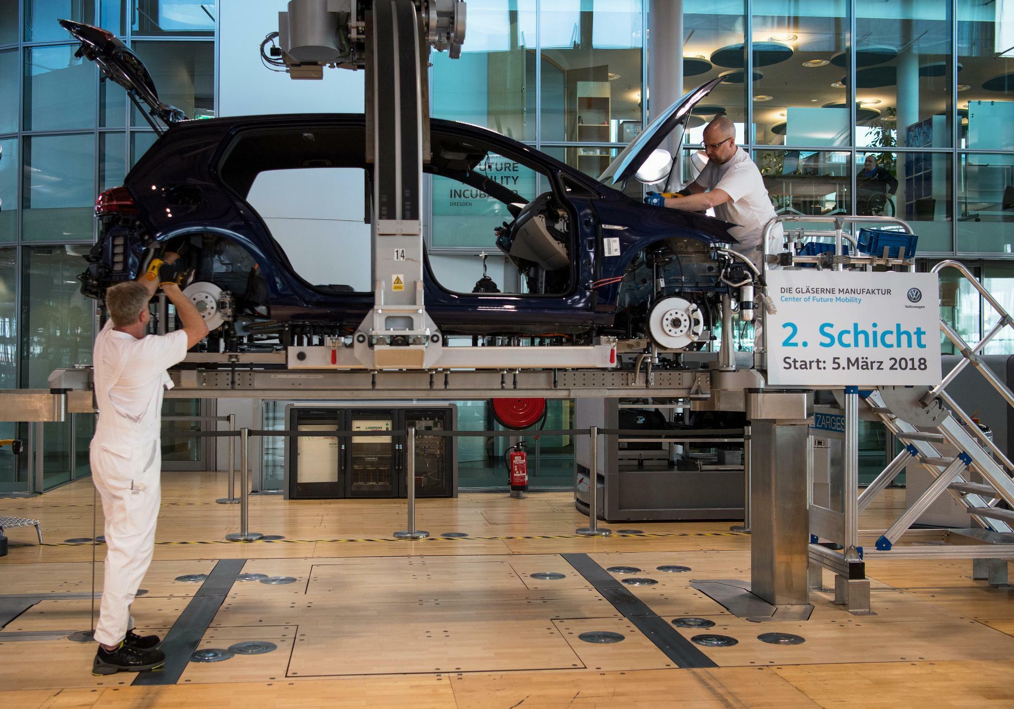 VW will Produktivität um sechs Prozent steigern
