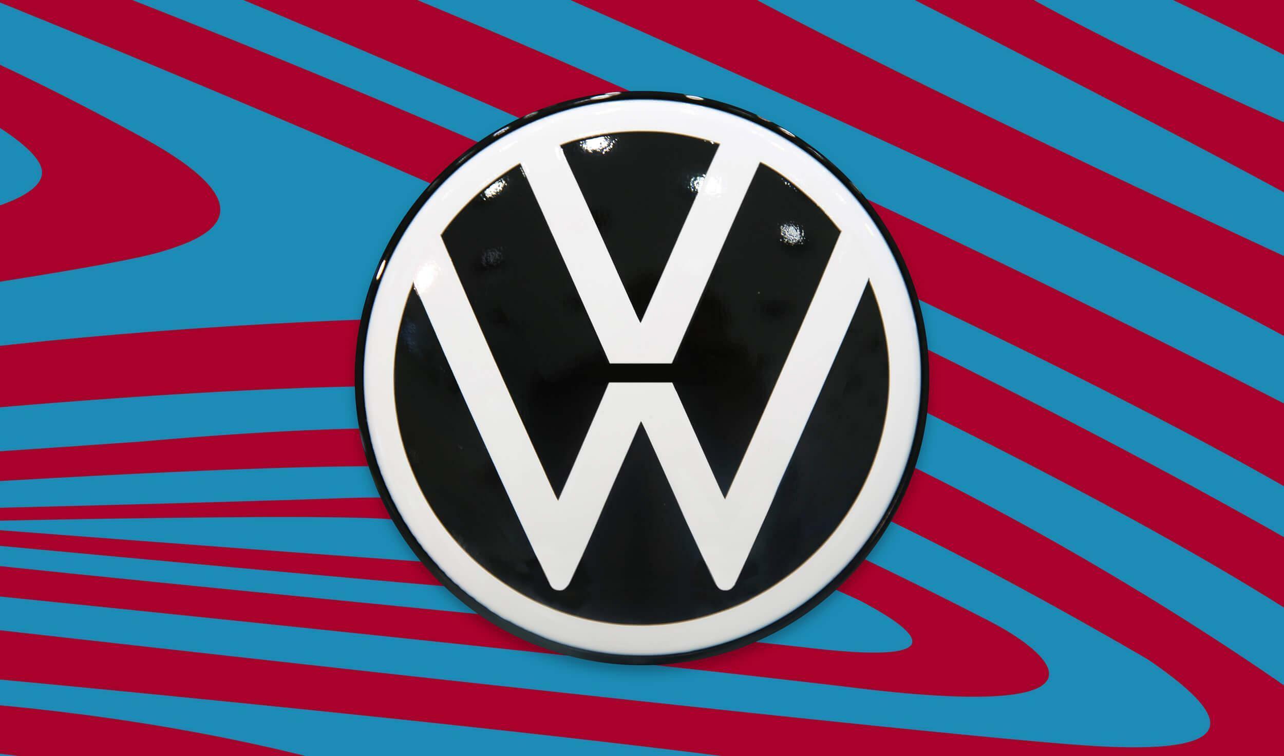 Die finale Version des neuen VW-Logos steht fest