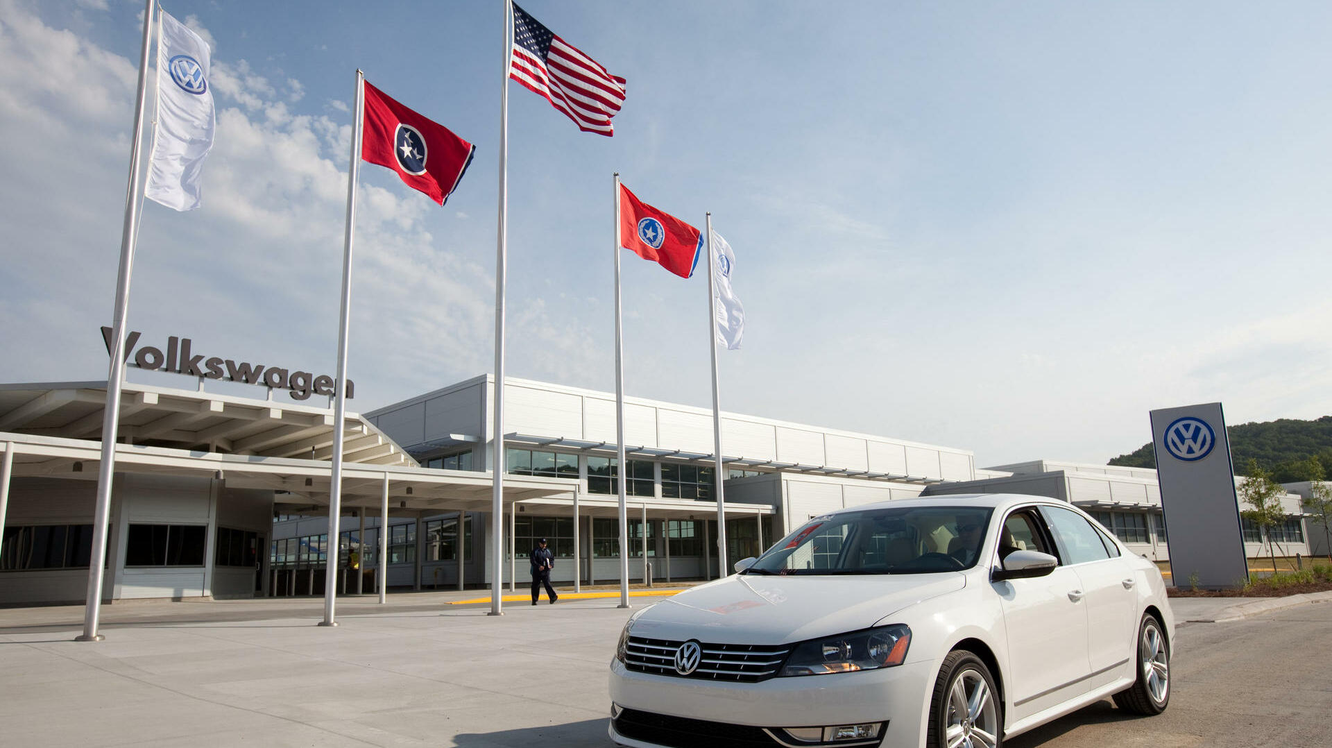 VW in den USA Quelle: dpa