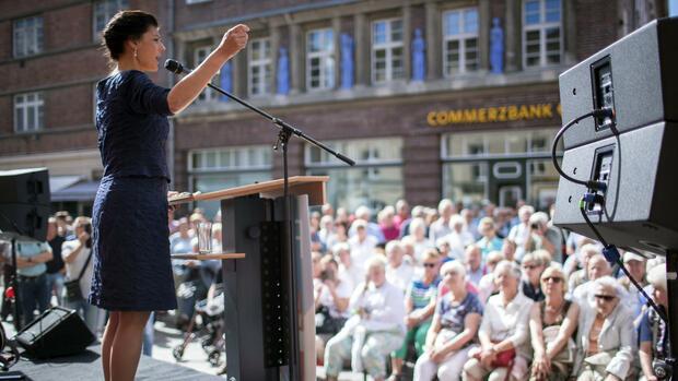 Bundestagswahl: Wie die Linke Wahlkampf macht