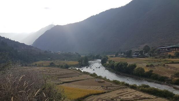 Bhutans Energiequellen trocknen aus